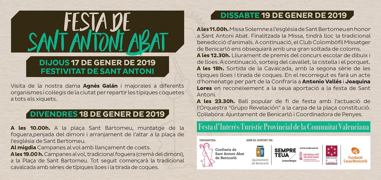 Sant-Antoni-Benicarlo-programa-2018-2019