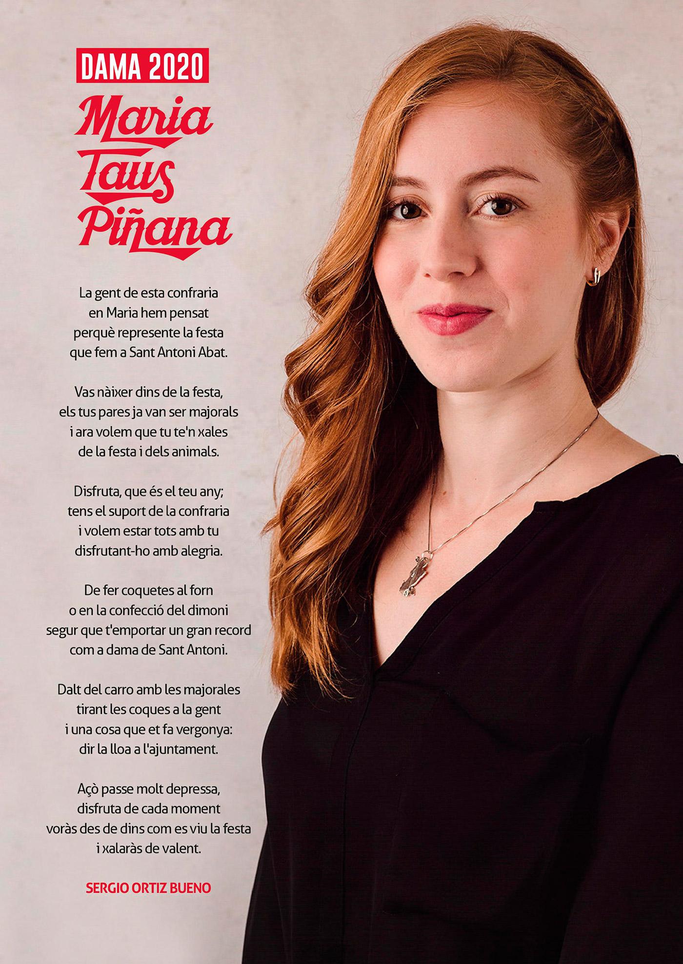 Dama 2020 Maria Taus Piñana Presentación